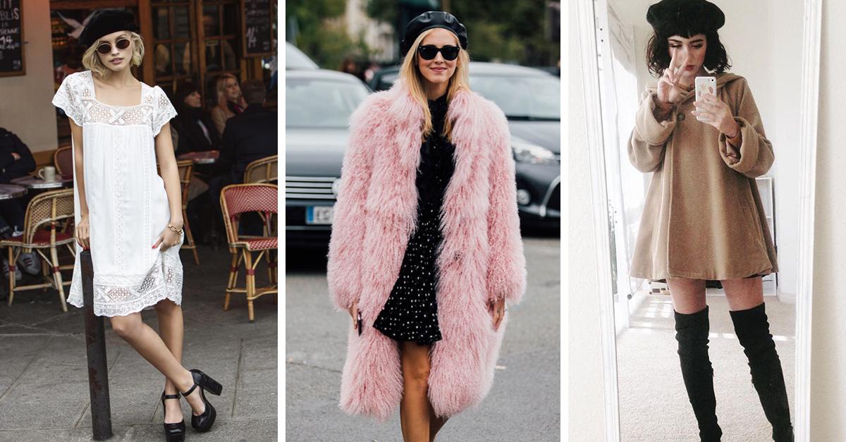 20 Outfits para combinar tu boina y verte más guapa que nunca