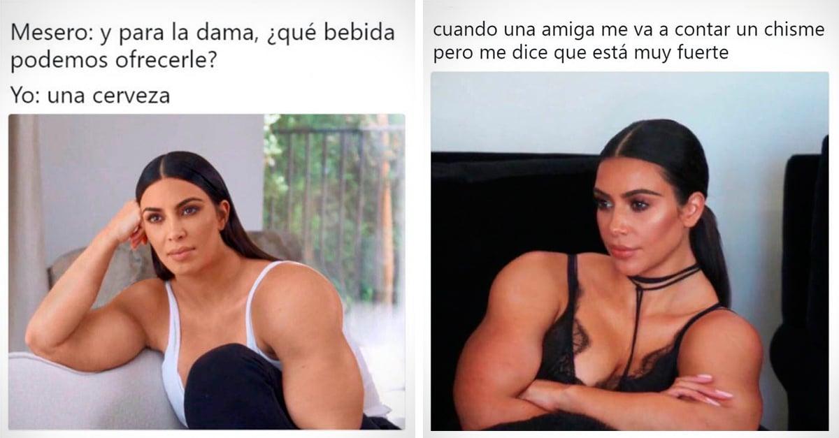 Gym Kardashian, el meme que está volviendo locos a todos en Interne