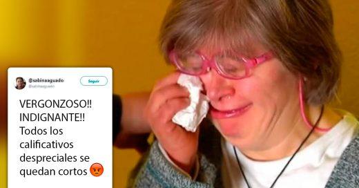 Esta mujer con síndrome de Down fue expulsada de un evento 'para no asustar' a los asistentes