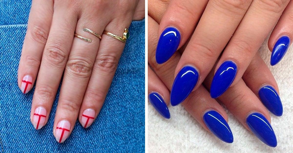 15 diseños de uñas de almendra que necesitas probar