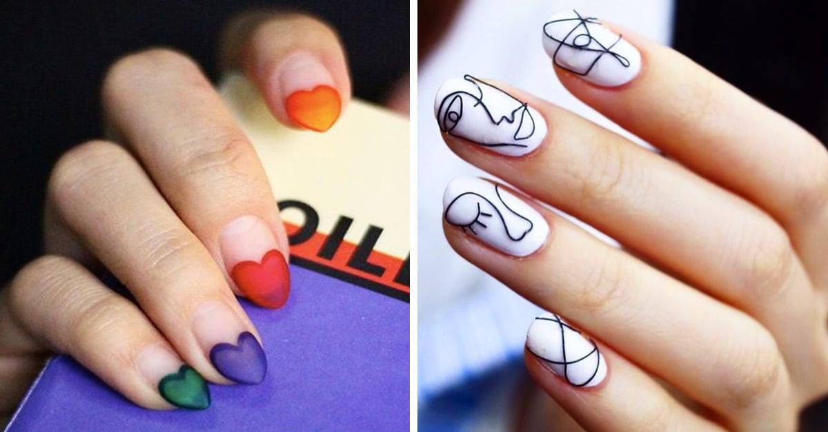 15 Diseños de uñas tan originales que hasta tu especialista en 'nail art' querrá copiarte