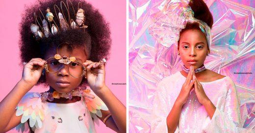Capturaron una serie de fotografías para que el mundo admirara la belleza del cabello afro