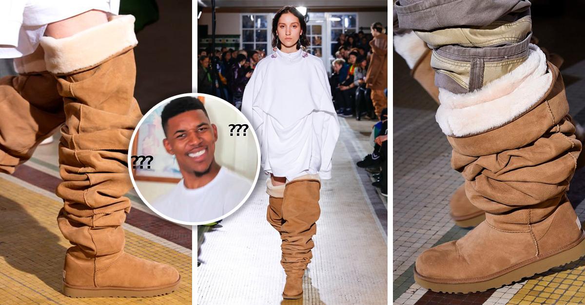 Las nuevas botas Ugg son tan extrañas que la gente está impresionada