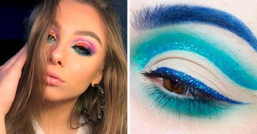 15 Ideas de maquillaje de sirena que puedes usar todos los días