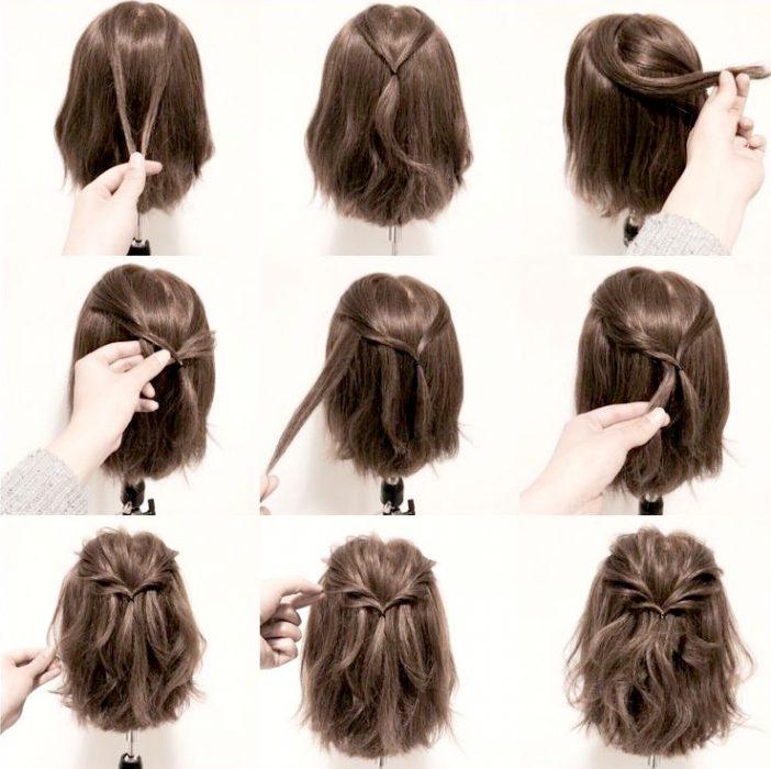 peinados cabello corto