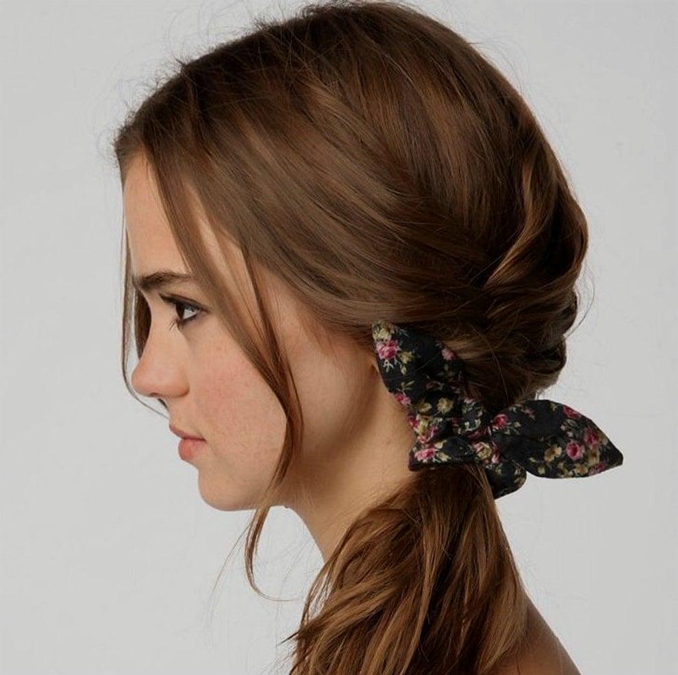 17 formas de usar las donas para el cabello en su regreso for Suelto blanco suelto barato