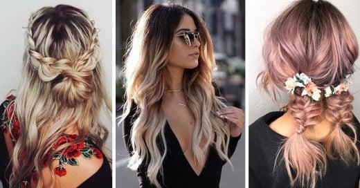 15 Peinados para lucir en la primera cita