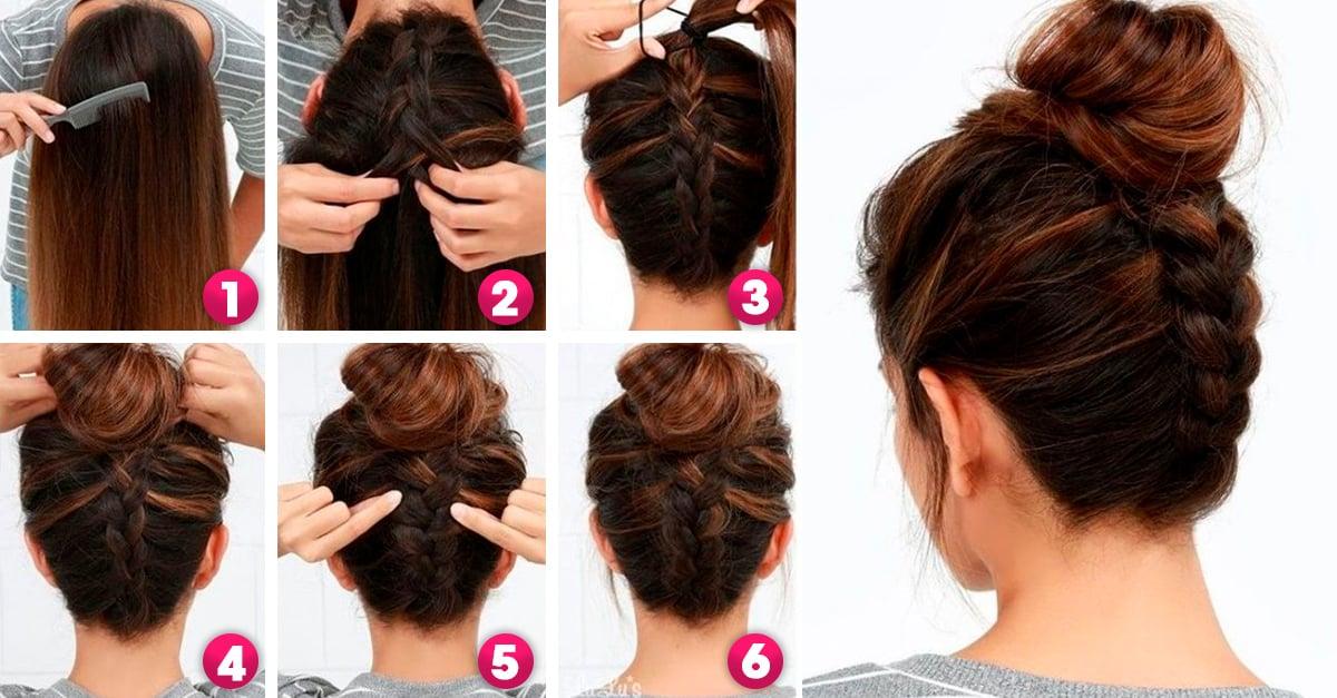 16 Peinados para un look chic en menos de 10 minutos