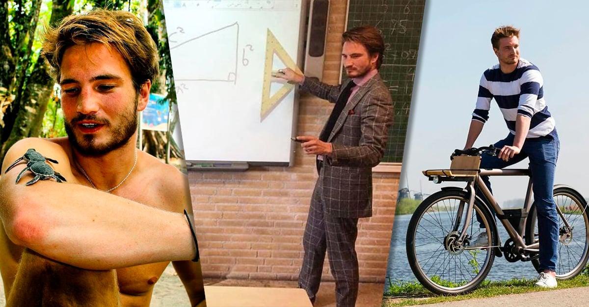 El profesor de matemáticas que volverá tu odio por los números en amor