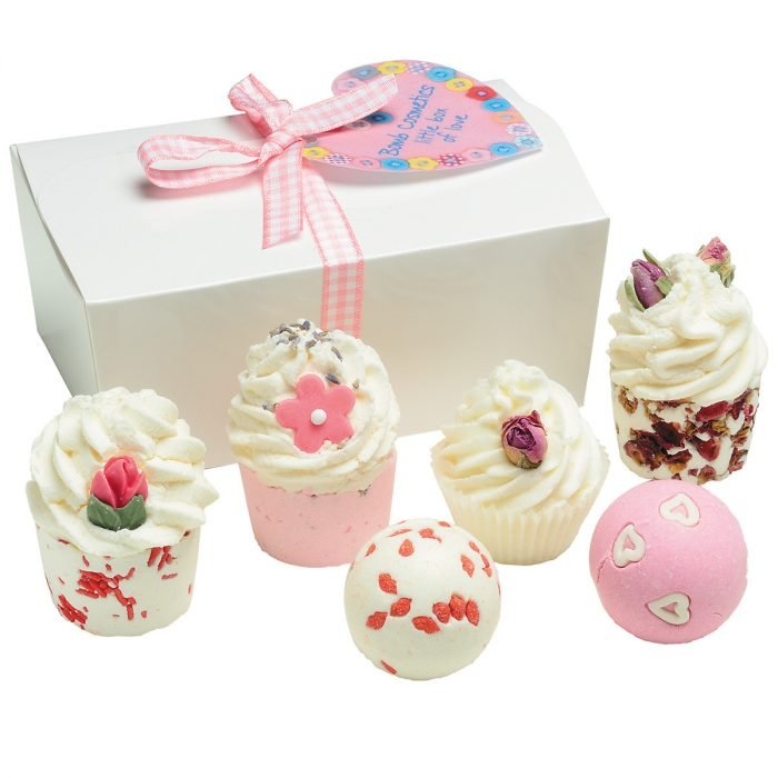 set de spa estilo cupcake