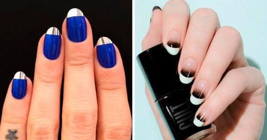 15 Diseños que te ayudarán a reinventar tu clásico manicure francés