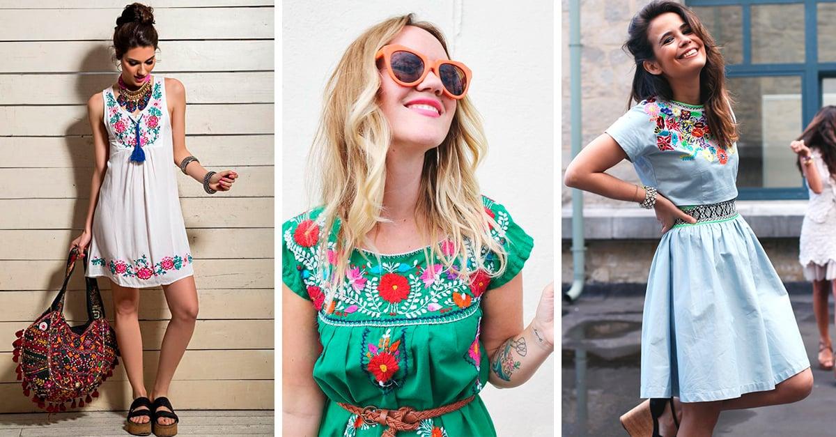 15 Prendas bordadas que seguro querrás tener en tu armario este verano
