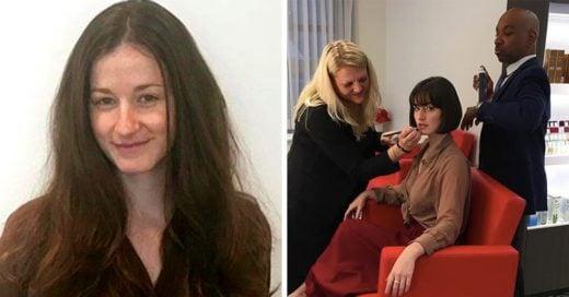 Su vida cambio luego de cortarse el cabello después de que su novio la dejara
