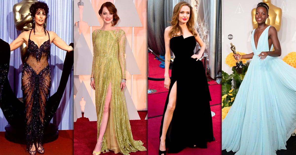 Los 30 vestidos más icónicos de los Oscars en los últimos 30 años