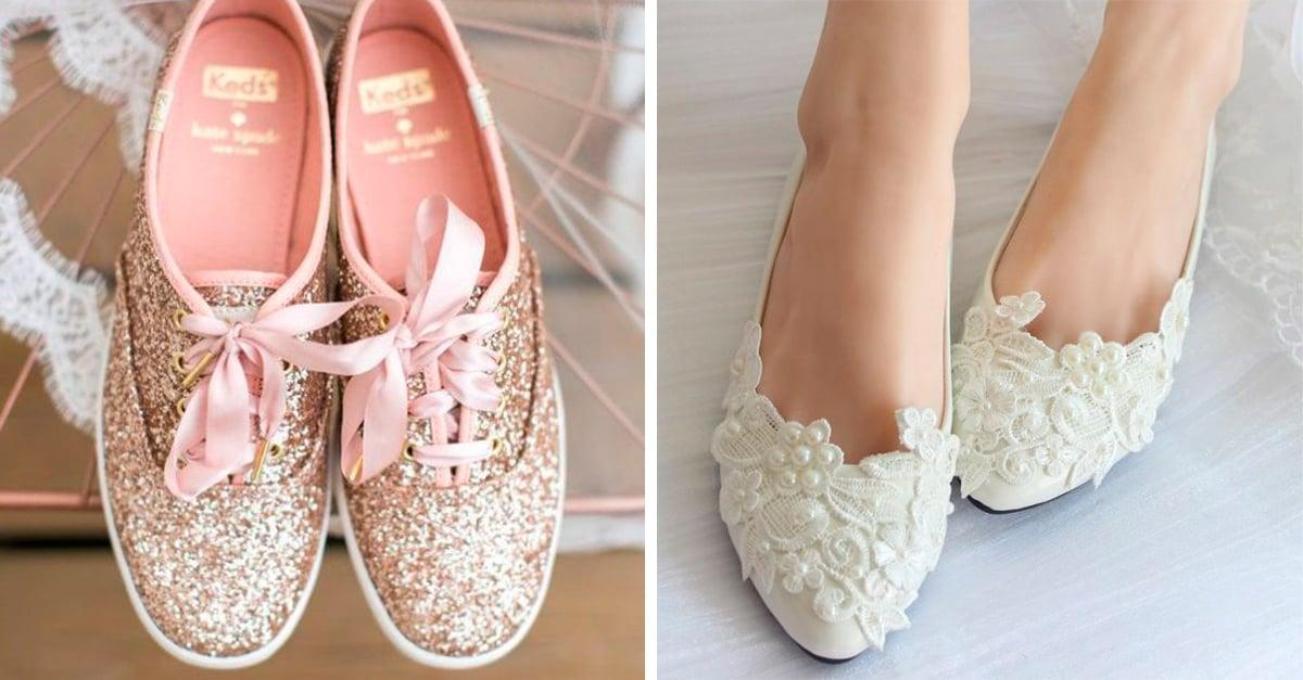 claro y distintivo moda mejor valorada nuevas variedades 15 Hermosos zapatos sin tacón para tu fiesta de 15 años