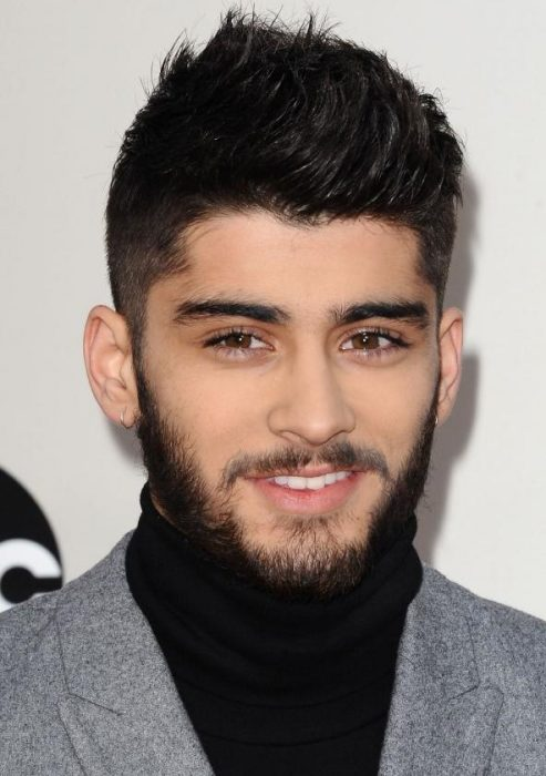 zayn malik the quiff cut