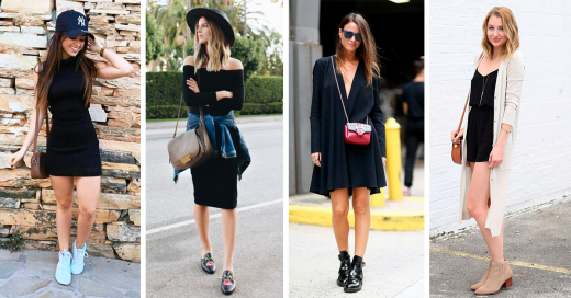 Piropos para una mujer vestida de negro