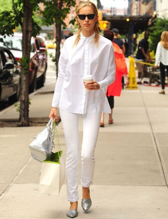 Camisa blanca chica