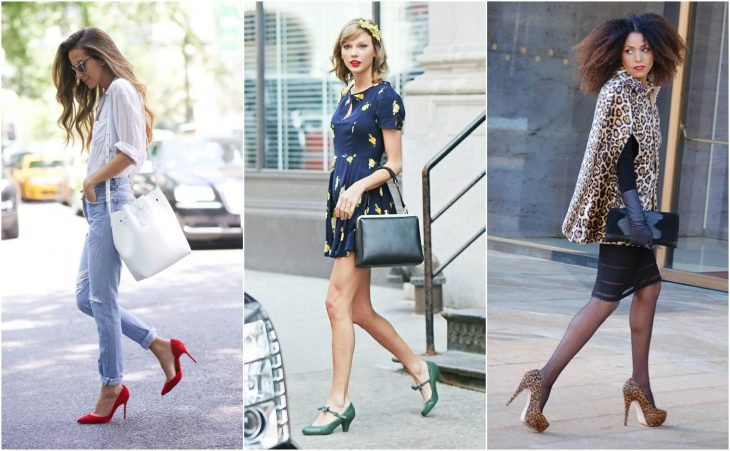 Stilettos, kitten heels y pumps estilos