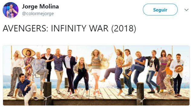 Memes de Avenger Infinity Wars