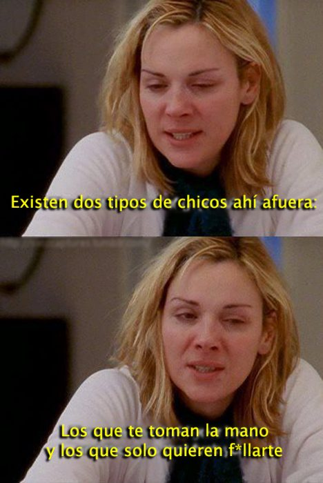 Samantha Jones lecciones de vida