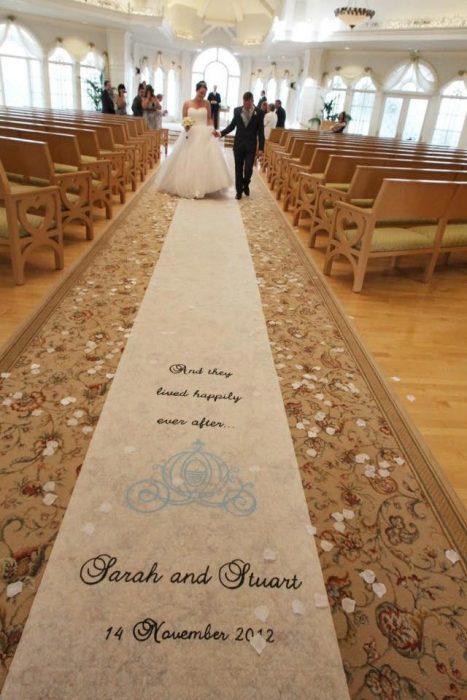 camino de bodas de la cenicienta