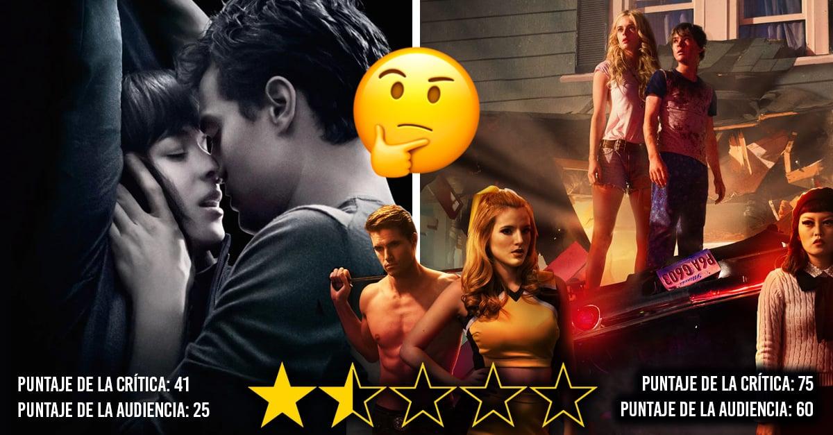 15 Películas con las PEORES calificaciones en Netflix; velas bajo tu propio riesgo