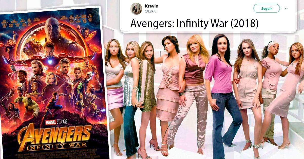 20 Memes que muestran el verdadero elenco de Avengers: Infinity War