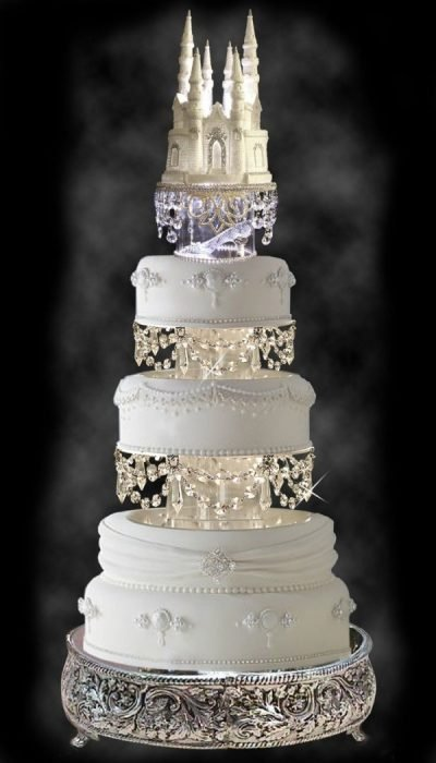 ice wedding cake 20 hermosas ideas para tener una boda de princesa disney 16259