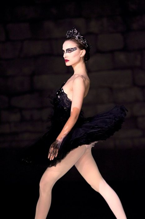 Natalie Portman en la película cisne negro