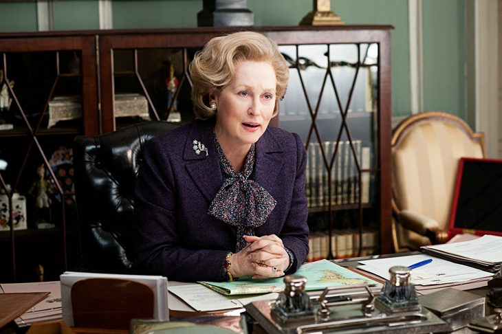 Meryl Streep actuando