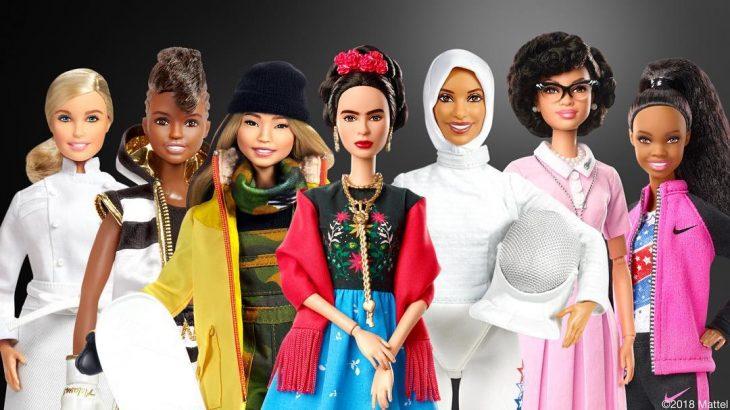 Línea de barbies inspiradas en diferentes mujeres