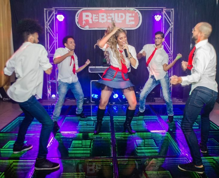 Samara la Youtuber que tuvo una fiesta inspirada en Rebelde