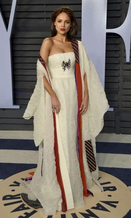 Vestido que Eiza Gonzales usó en el after party de los óscar