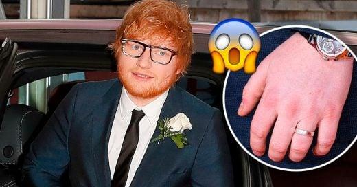 Ed Sheeran aclara los rumores sobre su supuesta boda secreta