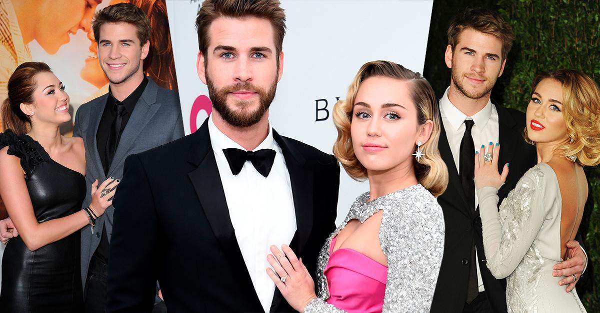 El lenguaje corporal de Miley Cyrus y Liam Hemsworth