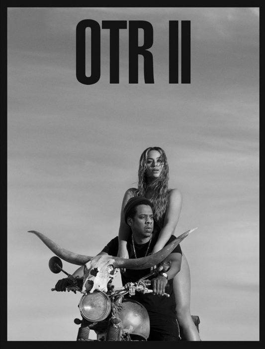 Portada del poster de la gira de Beyoné y Jay Z
