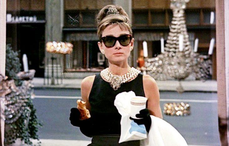 Escena de la película desayuno con diamantes
