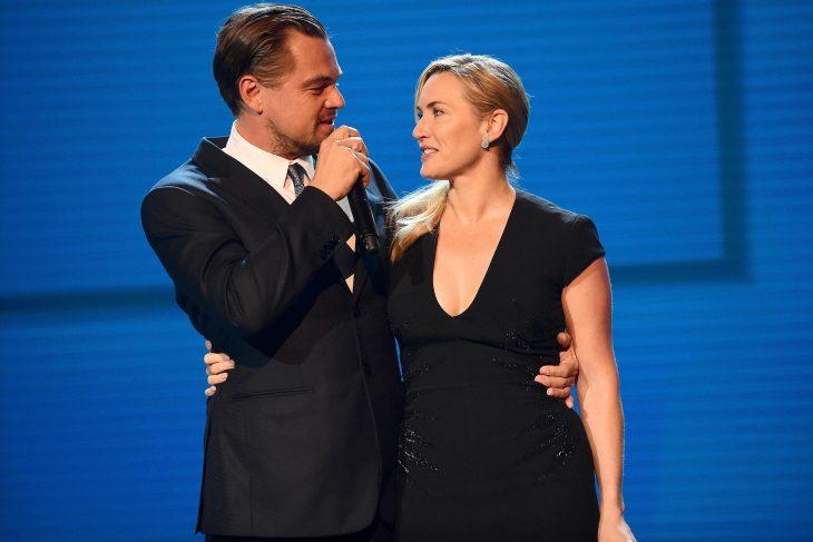 Kate Winslet y Leo DiCaprio juntos en las alfombras rojas