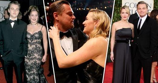 15 Fotos de Leo DiCaprio y Kate Winslet en alfombra roja; son el uno para el otro