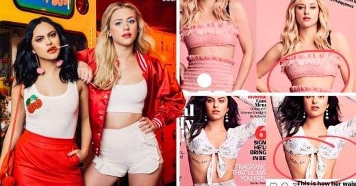 Lili Reinhart y Camila Mendes de 'Riverdale' criticaron a una revista por retocar sus fotos
