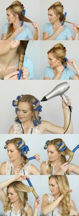 Tutorial para rizar el cabello en 5 minutos