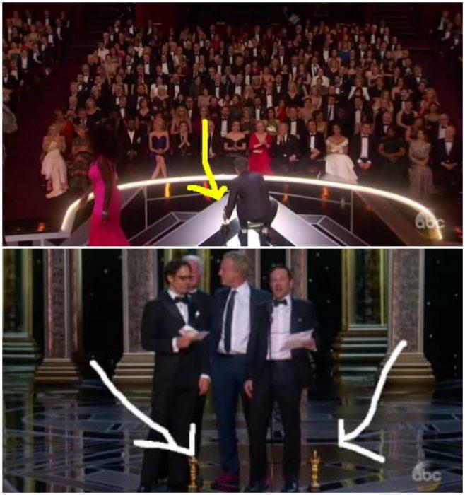 escena de los premios Óscar