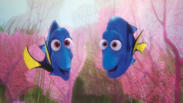 Escena de la película Buscando a Dory