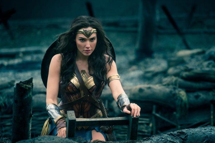 escena de la película La Mujer Maravilla