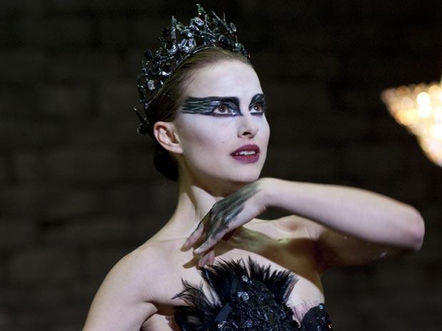 escena de la película El cisne negro