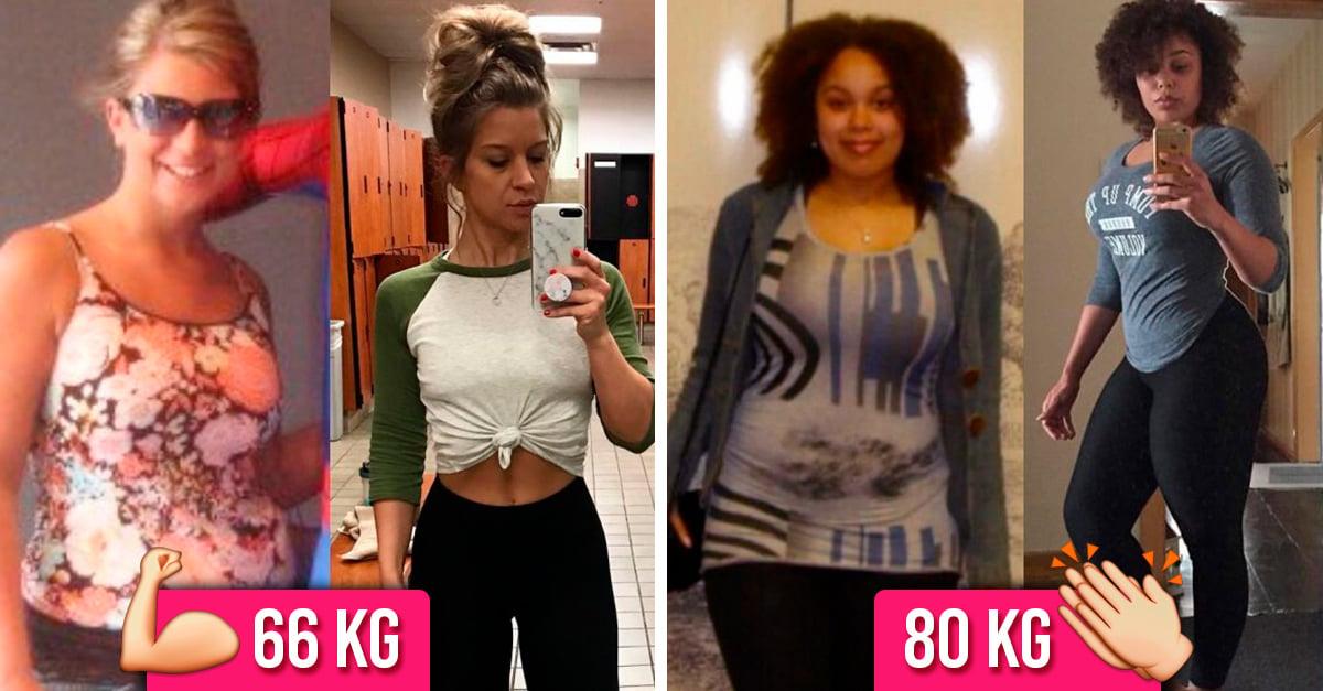 Mujeres que no perdieron peso, lo transformaron en músculo