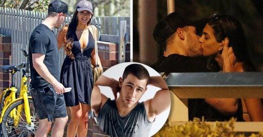 Nick Jonas ayudó a una chica que se había caído en una bicicleta