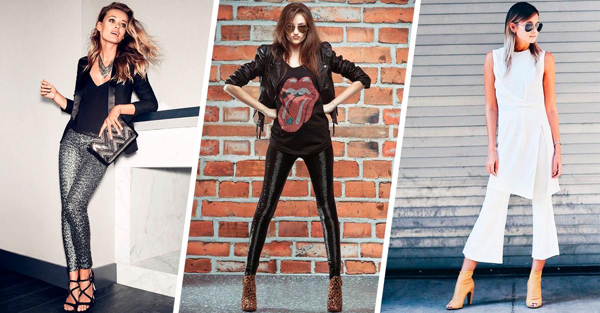 15 atuendos con pantalones ideales para lucir en el antro
