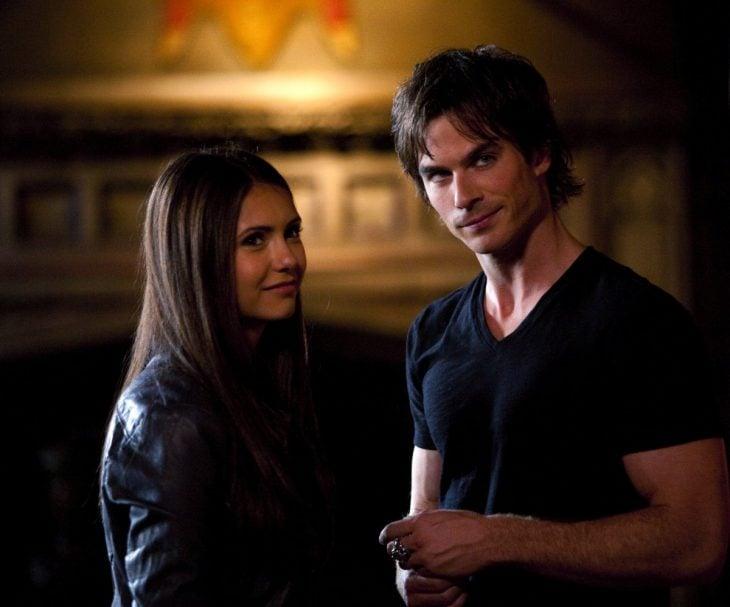 Escena de la serie Vampire Diaries
